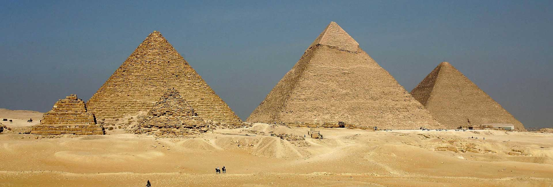 The Pyramids of Giza & The Great Sphinx