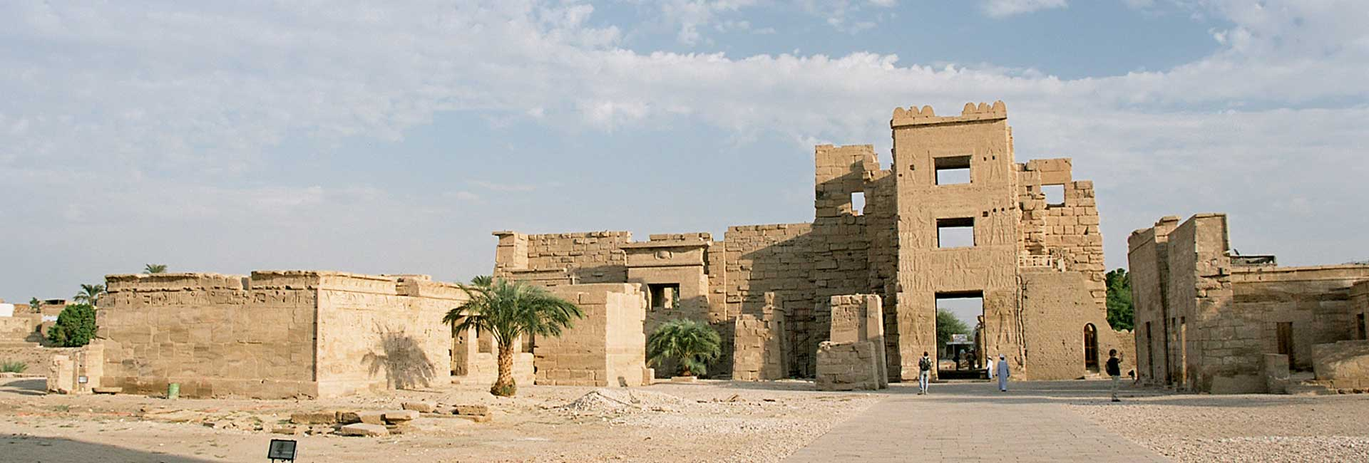 Temple of Madinat Habu