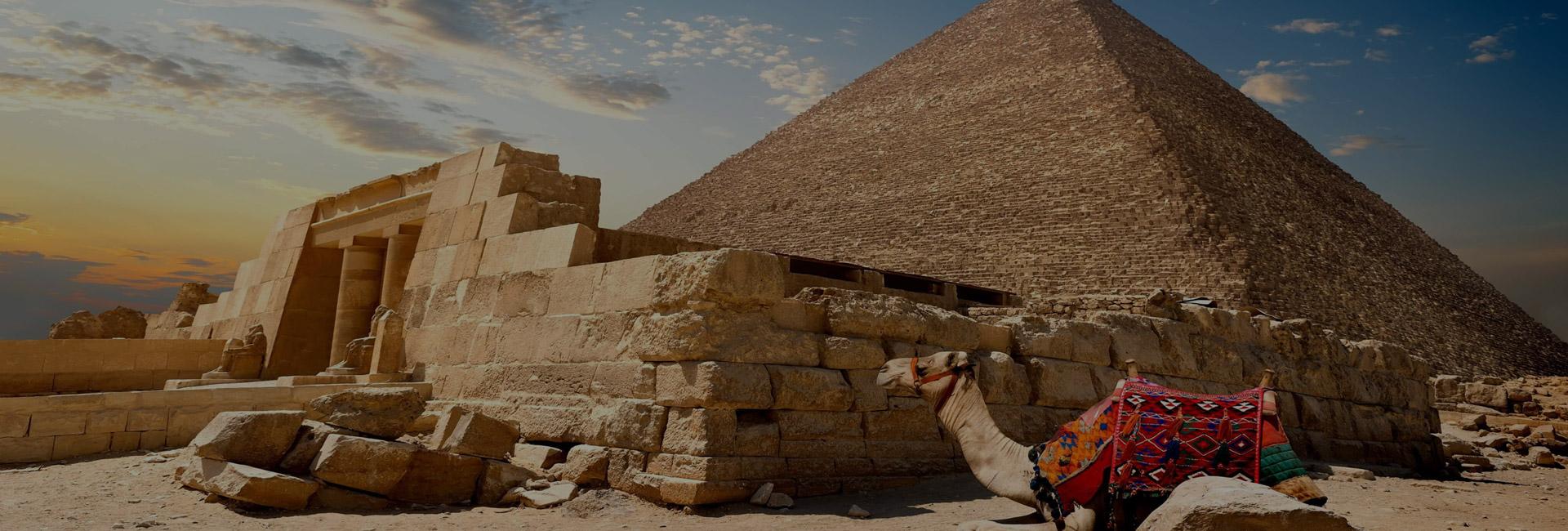 Pyramids the Nile and Sharm El Sheikh