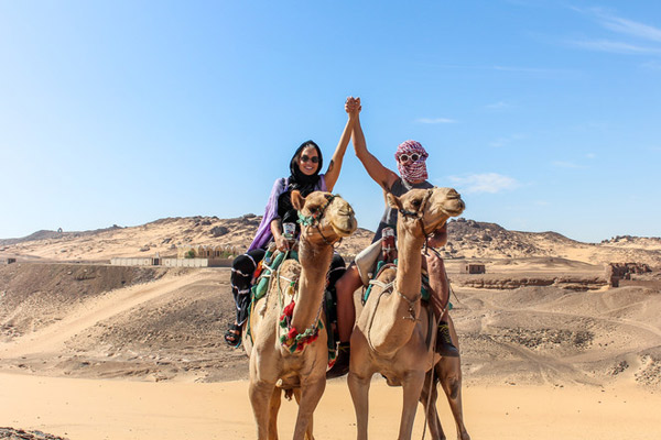 Tour To St Simeon Monastery In Aswan With Camel Ride