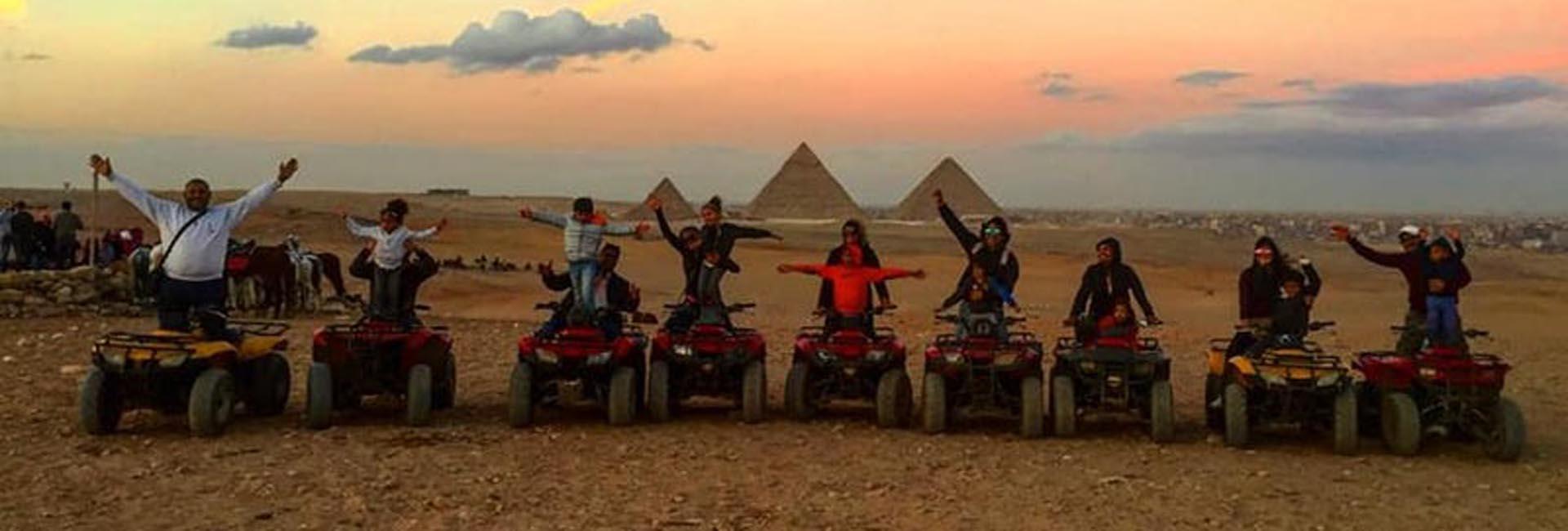 Pyramids Quad Bike