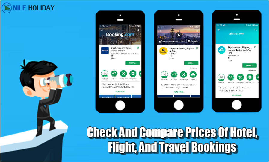 Compare Prices Of Hotel, Flight, And Travel Bookings