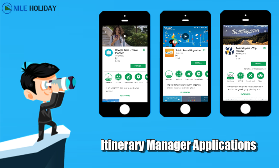 Itinerary Manager Applications