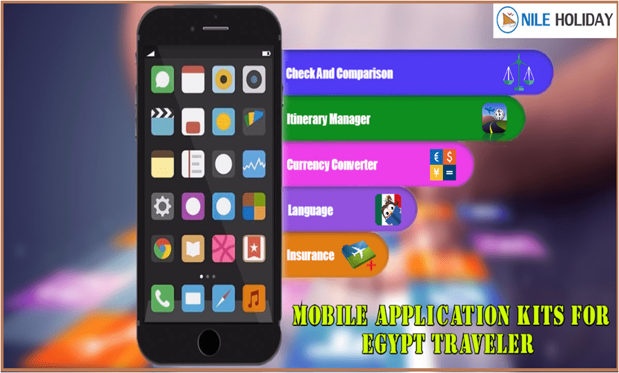 Mobile Applications Kit For Egypt Traveler